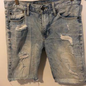 American Eagle Core Flex Jean Shorts